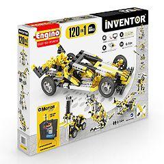 Engino Inventor 120-In-1 Motorized Models Building Set