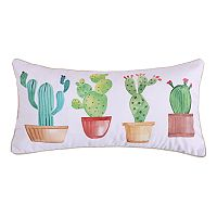 Levtex Janelle Cactus Oblong Throw Pillow