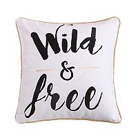 Levtex Janelle Wild & Free Throw Pillow
