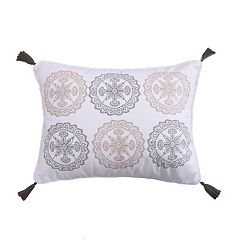 Levtex Alper Embroidered Medallions Throw Pillow
