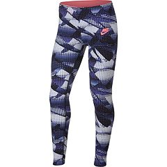 Girls 7-16 Nike Favorites Athletic Leggings