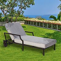 Linum Home Textiles Standard Size Chaise Lounge Cover