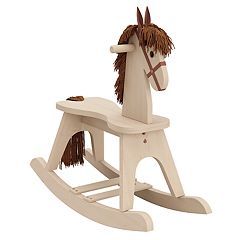 Stork Craft Wooden Rocking Horse