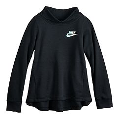 Girls 7-16 Nike Mockneck Fleece Peplum Sweatshirt