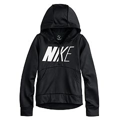 5d1ee6022 Girls 7-16 Nike Quarter Zip Thermal Hoodie
