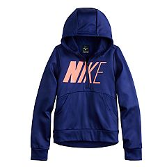 4e102a270e5 Girls 7-16 Nike Quarter Zip Thermal Hoodie