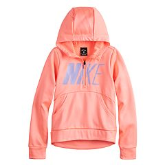 1776dc150cd5 Girls 7-16 Nike Quarter Zip Thermal Hoodie