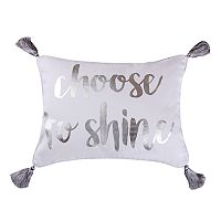 Levtex Dynasty Choose To Shine Throw Pillow