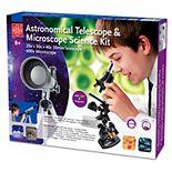 EDU-Toys Astronomical Telescope & Microscope Science Kit