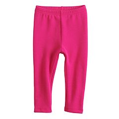 Baby Girl Jumping Beans® Solid Knit Leggings