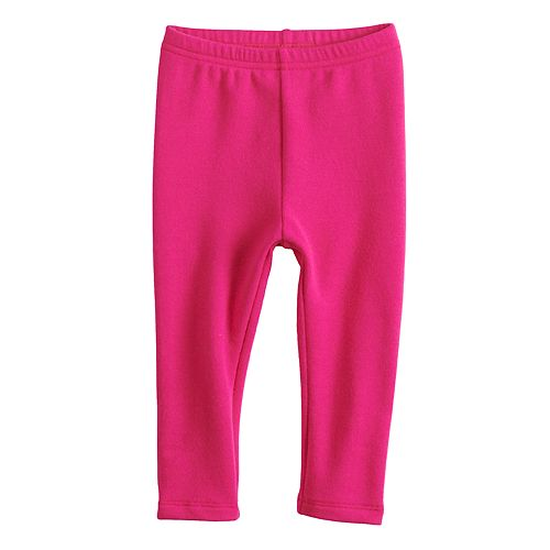 fb1073c154ea7 Baby Girl Jumping Beans® Solid Knit Leggings