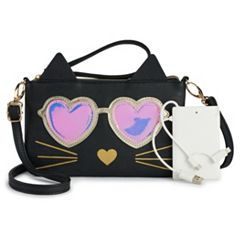 Animal Phone Charging Crossbody Bag