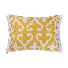 Levtex Dynasty Yellow Throw Pillow