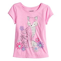 Toddler Girl  Jumping Beans® Fox Slubbed Graphic Tee