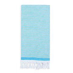 Linum Home Textiles Soft Stripes Pestemal Beach Towel