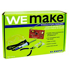 Elenco WE MAKE Learn to Solder FM Radio Kit