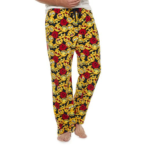 Big & Tall Croft & Barrow® Patterned Microfleece Lounge Pants