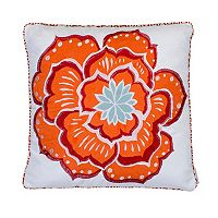 Levtex Abigail Flower Throw Pillow