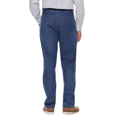 Men's Big & Tall Croft & Barrow® Classic-Fit Flannel-Lined Jeans