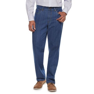 Men's Big & Tall Croft & Barrow® Classic-Fit Flannel-Lined Jeans