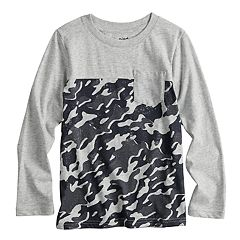 Boys 4-12 Jumping Beans® Camouflaged Pocket Tee