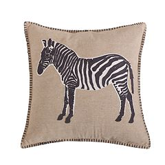 Levtex Mirage Zebra Throw Pillow