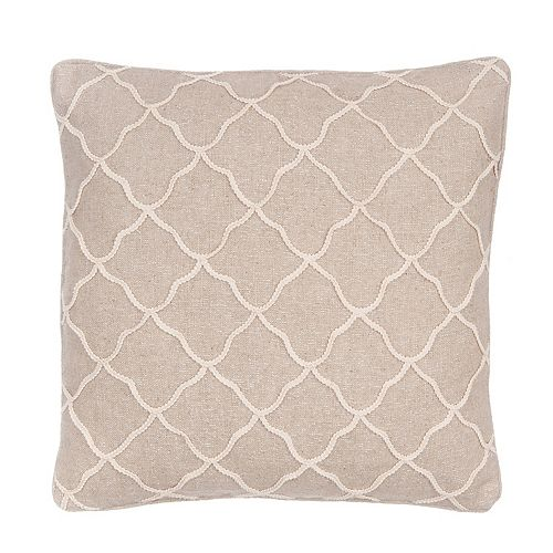 Levtex Palladium Rope Sparkle Throw Pillow
