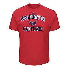 Men's Majestic Washington Capitals Heart & Soul Tee