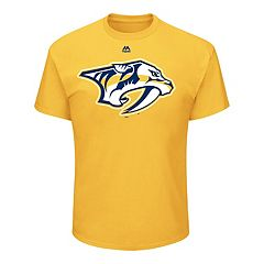 Men's Majestic Nashville Predators Official Logo Tee