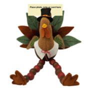 Celebrate Fall Together Turkey Thanksgiving Photo Clip