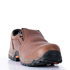 McRae Industrial Men's Composite Toe Slip Resistant Work Shoes