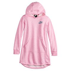 Girls 7-16 Nike Hooded Sweatshirt Dress
