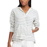 Women's Chaps Striped French Terry Hoodie
