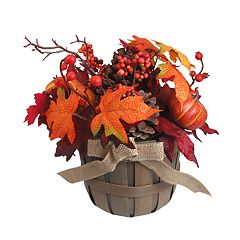 Celebrate Fall Together Artificial Leaves Table Decor