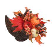 Celebrate Fall Together Artificial Cornucopia Table Decor