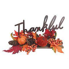 Celebrate Fall Together 'Thankful' Table Decor