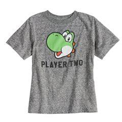 Boys & Girls 4-7x Dad & Me Player Two Yoshi Graphic Tee