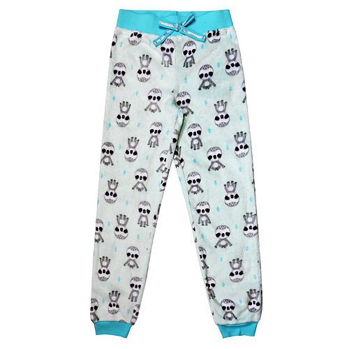 Girls 4-16 Jellifish Fleece Jogger Pajama Pants