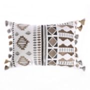 Levtex Reno Embroidered Fringe Throw Pillow