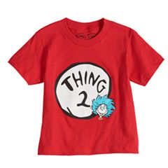 Boys & Girls 4-7x Dad & Me Dr. Seuss Thing 2 Graphic Tee
