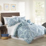 Mary Jane's Home Watercolor Medallion 5-piece Comforter Set