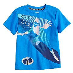 Disney / Pixar The Incredibles II Toddler Boy Foiled Frozone 'Keep Cool' Graphic Tee by Jumping Beans®