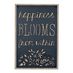 New View 'Happiness Blooms' Wall Decor