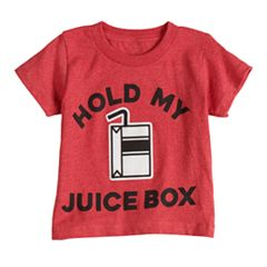 Boys & Girls 4-7x Dad & Me Juice Box Graphic Tee