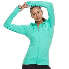Women's Tek Gear® Thumb Hole Hooded Jacket