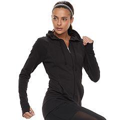 Women's Tek Gear® Thumb Hole Hooded Jacket