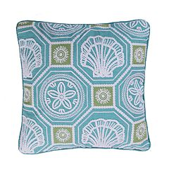 Levtex Camarillo Shells Throw Pillow