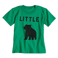 Boys & Girls 4-7x Dad & Me Little Bear Graphic Tee
