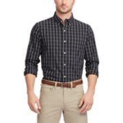 Big & Tall Chaps Regular-Fit Poplin Button-Down Shirt
