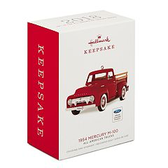 All-American Trucks 1954 Mercury M-100 2018 Hallmark Keepsake Christmas Ornament